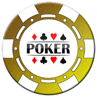 gold poker chip