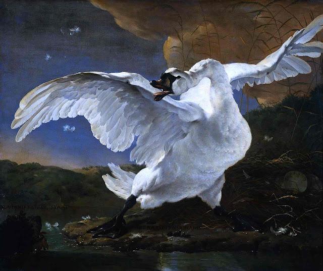 Jan Asselijn 1651 swan