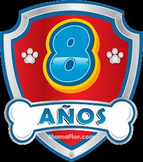 Cumpleaños de 8 años de la Patrulla de Cachorros