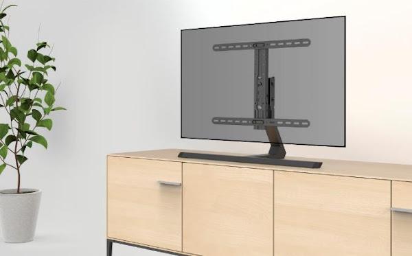"""Hama """"Design"""" TV Stand: uma solução universal e elegante para televisores planos"""