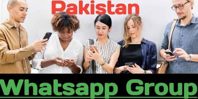 Pakistan Whatsapp Group Link   Join Whatsapp Group Pakistan (Latest)