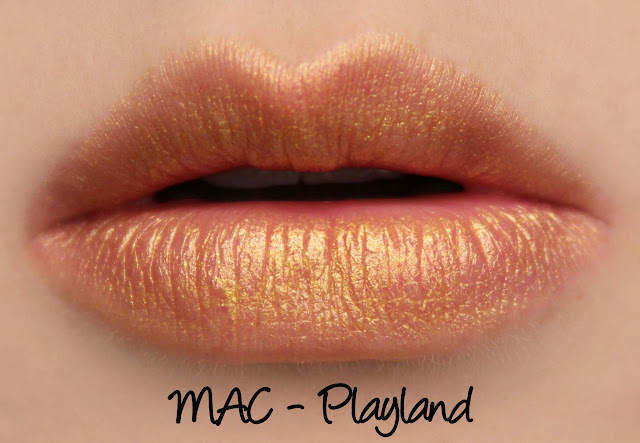 MAC Playland Lipstick Swatches & Review