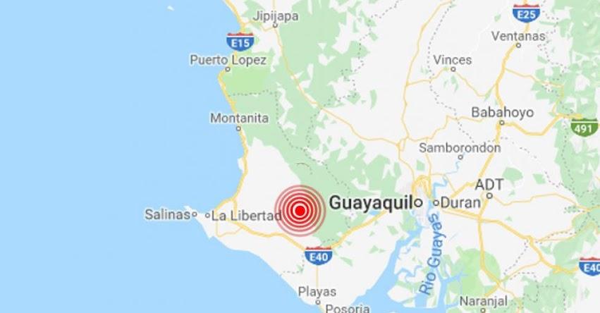 Temblor en Ecuador de Magnitud 5.3 (Hoy Domingo 7 Abril 2019) Sismo - Terremoto - Epicentro - Santa Elena - Quito - Guayaquil - Cuenca - www.igepn.edu.ec