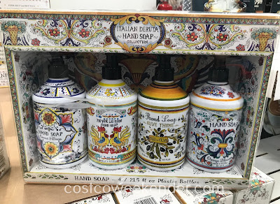 Washing your hands just got better with the Home and Body Co Italian Deruta Hand Soap Collection