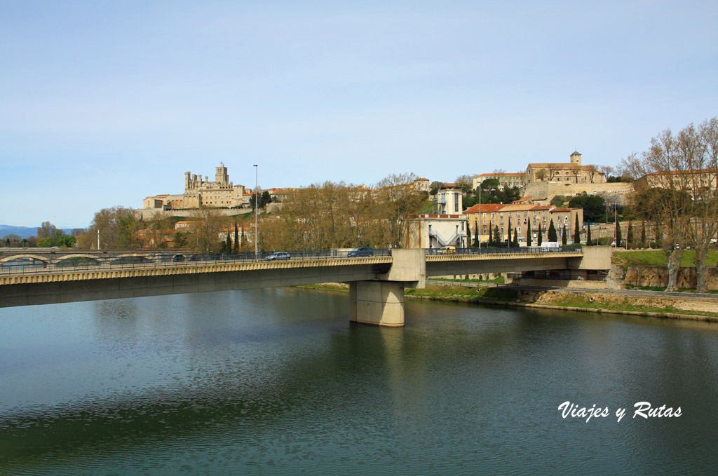 Río Orb y Beziers