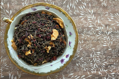 Death's Flower puerh tea blend