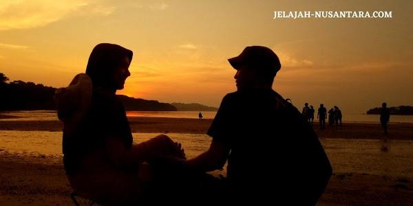 aktivitas wisata sunset pulau peucang taman nasional ujung kulon banten