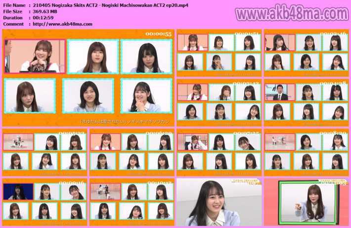 210405 Nogizaka Skits ACT2