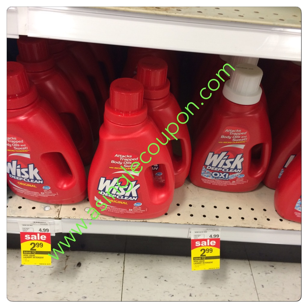 Wisk Detergent Target