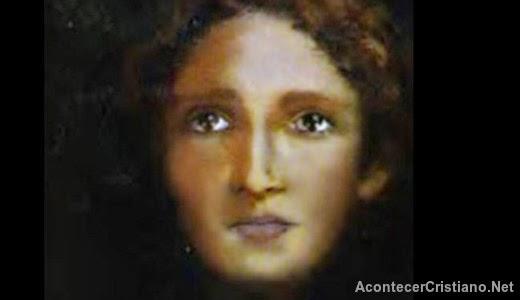 El rostro de Jesús cuando era adolescente