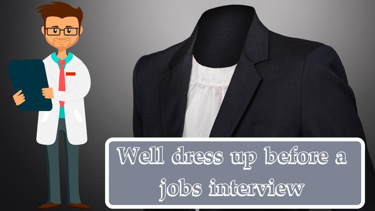 Well dress up before a jobs interview | Process Of Preparing For A Job Interview And Job Interview Questions Itifitter.com