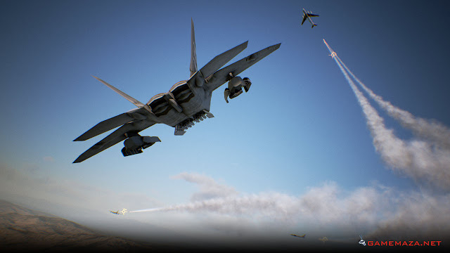 Ace Combat 7 Skies Unknown Gameplay Screenshot 2