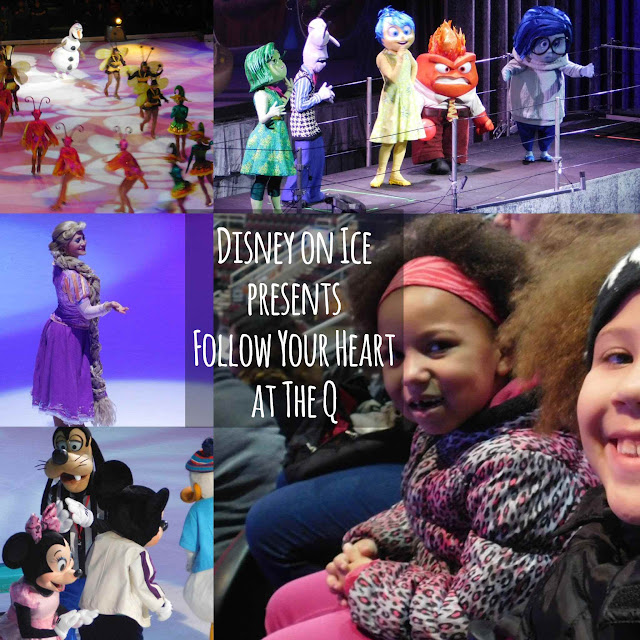 Take a look at our photos from Disney on Ice presents Follow Your Heart!