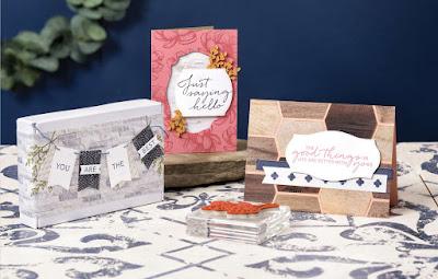 Stampin' Up! In Good Taste Designer Paper ~ Tasteful  Touches Bundle ~ 2020-2021 Annual Catalog #stampinup
