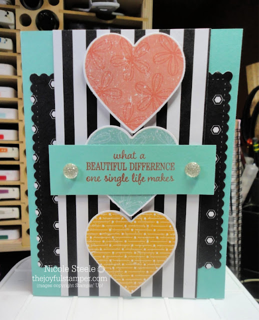 Mash up of Pleased As Punch and Golden Honey Specialty Designer Series Paper