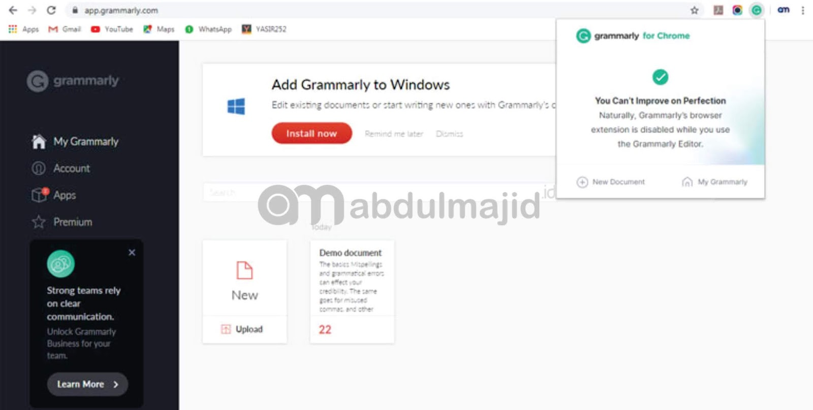 ekstensi-google-chrome-grammarly