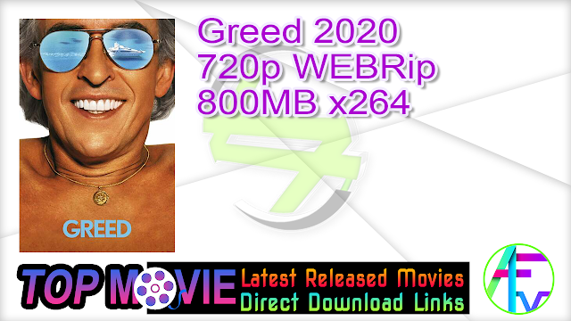 Greed 2020 720p WEBRip 800MB x264 Movie Online