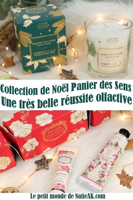 avis sur la collection de Noël Panier des sens