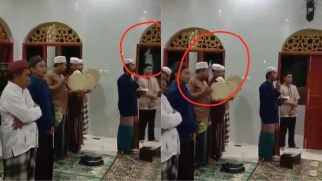 Viral Pocong Gentayangan di Depok, Lewat Sekelebat Saat Warga Bersalawat