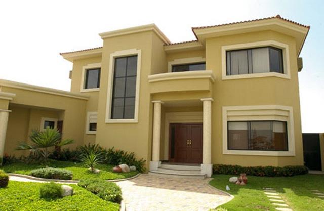 Colores para fachadas de casas modernas fachadas de Pisos para exteriores de casas modernas