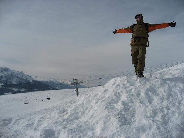 husband at slopes
