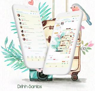 Bird Theme For YOWhatsApp & Fouad WhatsApp By Driih Santos