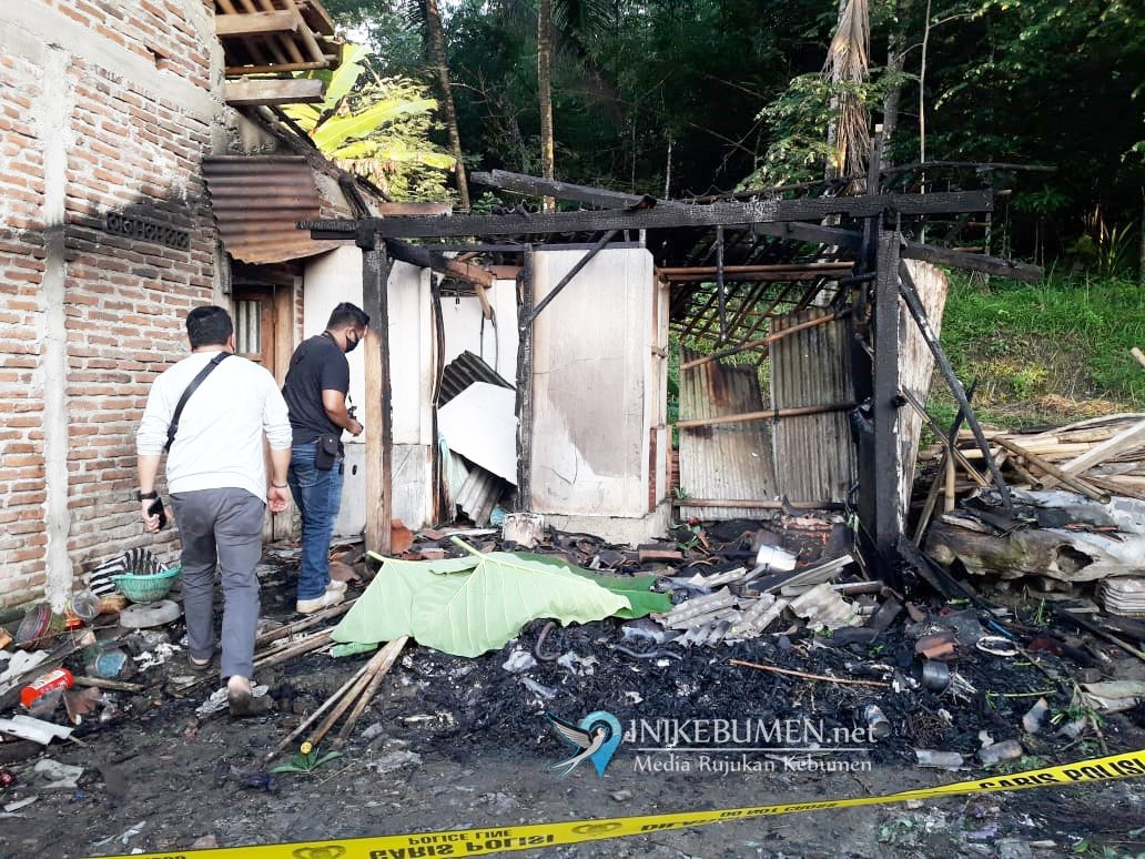 Innalillahi! Seorang Warga Tewas dalam Kebakaran Rumah di Sempor