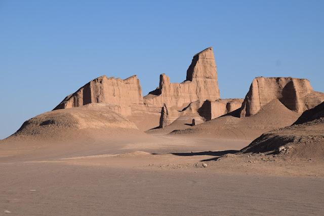 Kalouts of Shahdad Desert in Kerman, Iran
