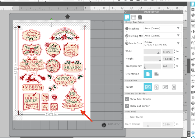 PNG files, tracing, sticker sets, print and cut, planner stickers