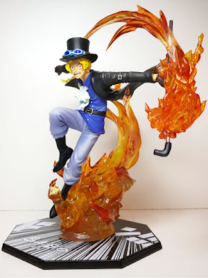"Figuras: Review del Figuarts Zero One Piece ""Sabo Super Fierce Battle - EXTRA BATTLE -"" - Tamashii Nations"
