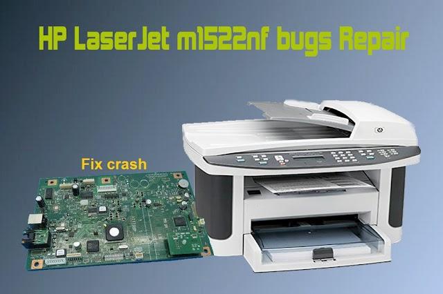 Hp laserjet m1522nf fix crash