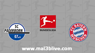 مشاهدة مباراة بادربورن وبايرن ميونخ اليوم 28-9-2019 في الدوري الألماني