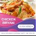 Chicken Biryani Web Banner Designs
