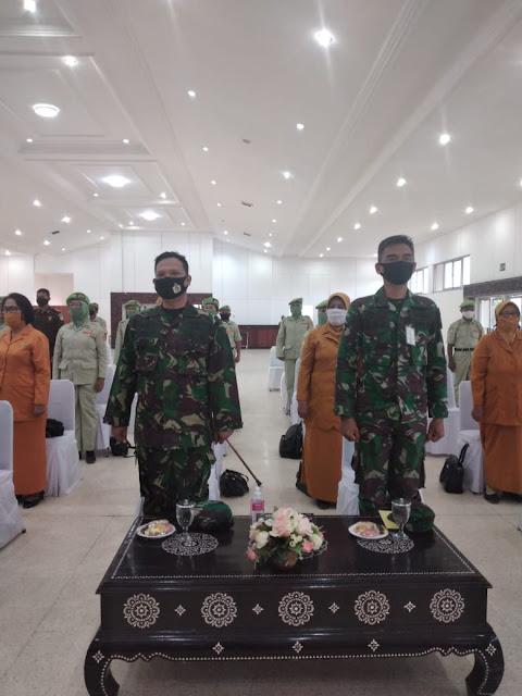 Danlanal Mataram hadiri Peringatan Hari Legiun Veteran Republik Indonesia