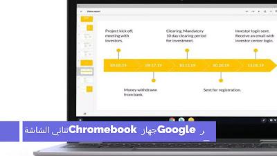 تعتبر Google جهاز Chromebook ثنائي الشاشة مثل Microsoft Surface Neo