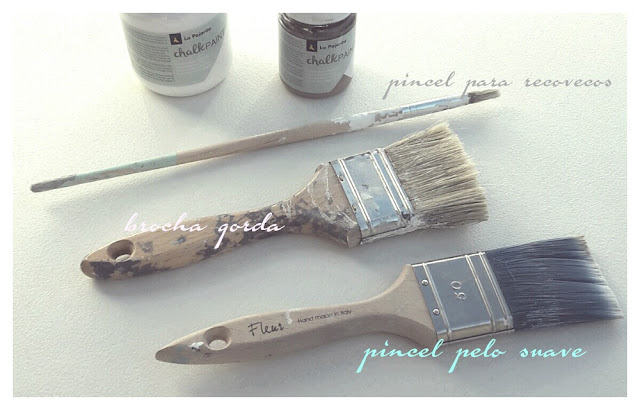 pinceles-brochas-chalk paint
