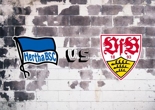 Hertha BSC vs Stuttgart  Resumen