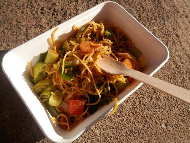 Vegan spiced noodles, Bhudda Belly.  What do vegans eat?  Out in Birmingham. secondhandsusie.blogspot.co.uk #ukveganblogger #birmingham