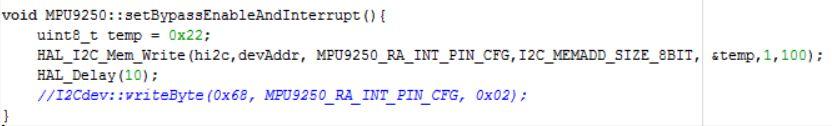 Custom Flight Controller Part 2 6: Getting the Orientation --- Using