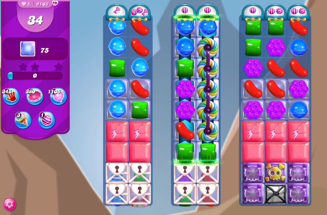 Candy Crush Saga level 9108