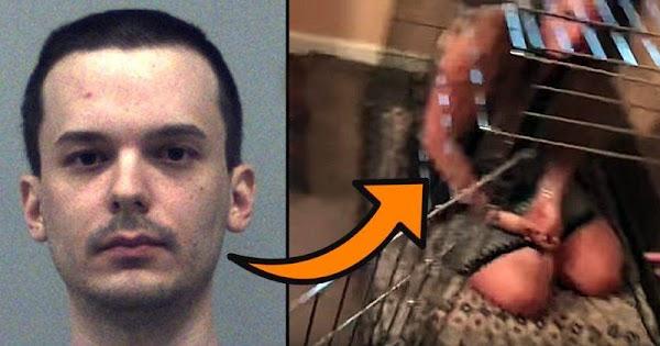 Man Kept Girl As Sex Slave In Dog Cage, Judge Gives Him No Jail Time