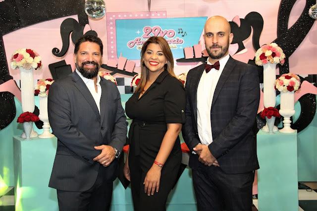 Felipe Olivares, Wendelyn Issa y Javier Ibars