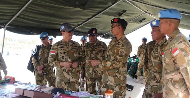 PenMil RI: Indonesia Battalion – Unifil, Penentu Keamanan Diperbatasan Lebanon - Israel