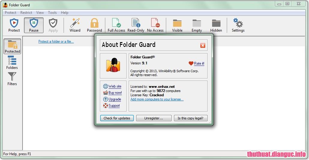 Download Folder Guard 19.5 Full Crack, chương trình bảo mật máy tính mạnh mẽ, Hạn chế quyền truy cập vào bất kỳ ổ đĩa rời, Folder Guard, Folder Guard free download, Folder Guard full key