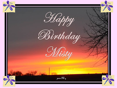 From My Kitchen Table Happy Birthday Misty
