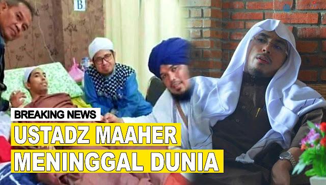 Ustadz Maaher Meninggal Dunia di Rutan Mabes Polri