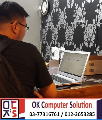 [SOLVED] CANNOT ON LENOVO Z500 | KEDAI REPAIR LAPTOP DAMANSARA 5