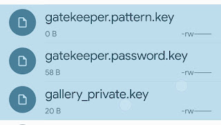 Fix Forget Pattern _ PIN _Password issue