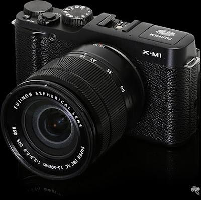 Fujifilm X-M1 Mirrorless Digital Camera Firmware Full Driversをダウンロード