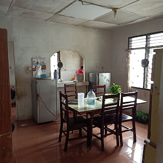 Dapur Rumah Murah Bangunan Lama Luas Tanah 420 m2 Dekat RS Adam Malik Medan Tuntungan Sumatera Utara